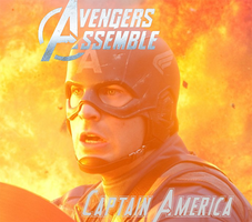Avengers Captain America by AragornofRedwall