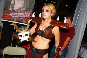 Boston Comic Con 2013 - Shao Kahn by VideoGameStupid