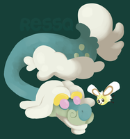 Drampa and Cutiefly