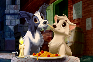 [C] Doggy Date by Brontonia