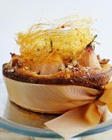Angel Pear Gateau by cakecrumbs