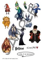 ROTG stickers by ZLynn