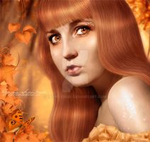 Autumn Girl by Yasny-chan