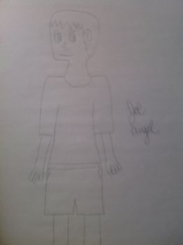 Another drawing of Myself by mrjesparza