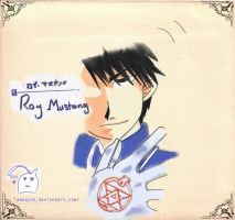 Roy Mustang by Lamaxyon