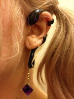 akuma homura earring 2 by Deanna-Lee