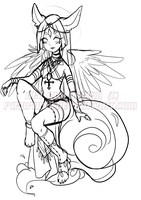 Adopt Preview: Egyptian Yusune by Pikapaws