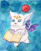 Moogle of the Travelling Kind by Starrydance