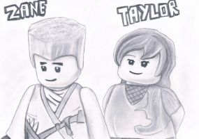 Zane and Taylor by HarmonyPond