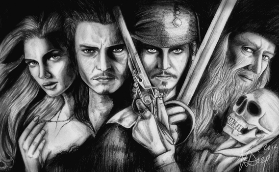 Curse of the Black Pearl by VD-Art