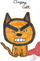 Angry Cat. by swordfishll
