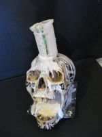 Skull and Candle by Tahirbrown