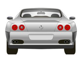 Ferrari 550 Maranello Back by Mrpalaces