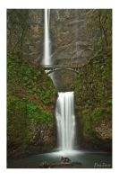 Multnomah Falls by DreaErvin