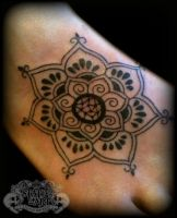 Henna looking tattoo by state-of-art-tattoo