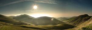 Panoramic Hills by sciph