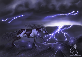 Against The Storm by MadMooCow