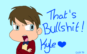 Kyle Is Not Pleased... Not At All by gleefulchibi