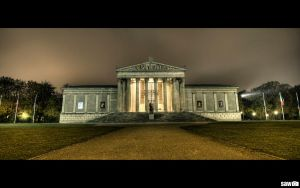 Glyptothek Munich by flu0rgfx