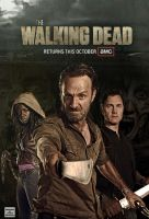 The Walking Dead Promo Poster by lmahogany