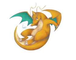 Dragonite by Ekomira