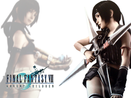 Yuffie Wallpaper by EmmiMania