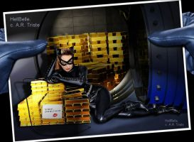Me--Vintage Catwoman by HellBelle