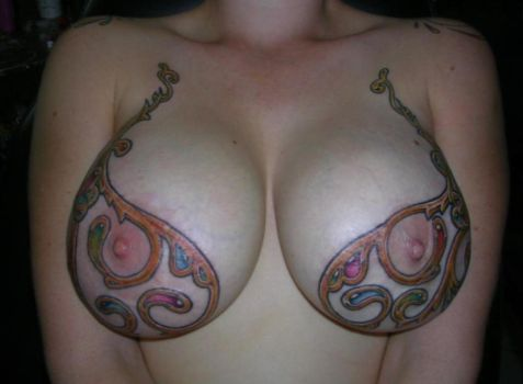 Bra Tattoo by jerryl1983