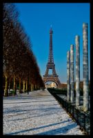 Eiffel Tower by radius0