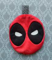 Deadpool Zipper Pouch by sugarstitch