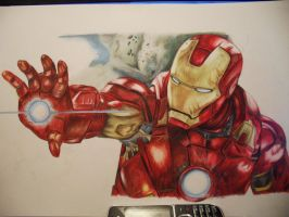 Iron Man WIP by Hazeleyes1990