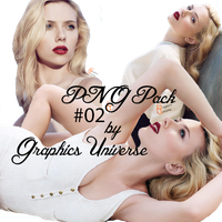 PNG Pack #02 by Graphic's Universe by GraphicsUniverse