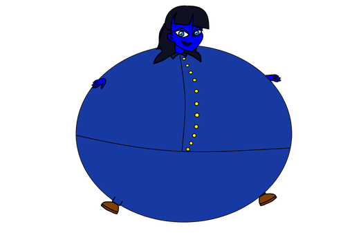 HaVTitC JatPF - Me as an inflated blueberry by pinkiepielover63