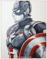 Captain America by ccayco