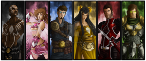 Mighty Morphin Power Rangers by Know-Kname