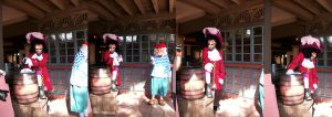 WDW Character: Captain Hook by wilterdrose-stock
