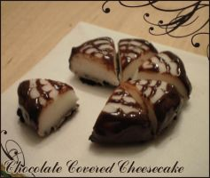 Chocolate Covered Cheesecake by Lunnie