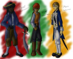 Pirates - group 1 by dragonsong12