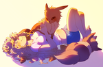 Eevee Love by TamberElla