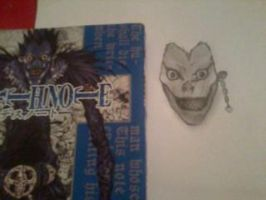 Ryuk stage 1 by neckanome4
