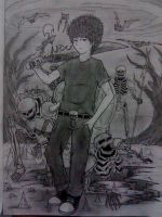 Nico di Angelo - son of Hades by beanystergates