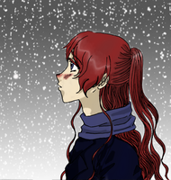 Akichi in the Snow - BRD by KashinoRei