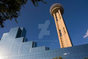 Reunion Tower, Dallas Texas by EyeInFocus