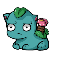That's an odd Venusaur... by JellyTheTangrowth