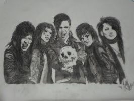 Black veil Brides  nr 8 by xxdaswarwohlnix