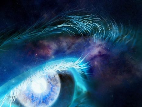 eye of the universe by HI-forever