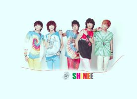 shinee wall03 by ueda04