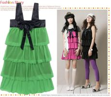 korean lovely Dress by fashionclothing4u