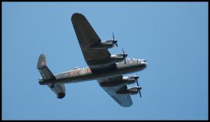 Lancaster Bomber by dxd