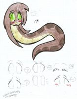 Awesome young Kaa by Garfield141992
